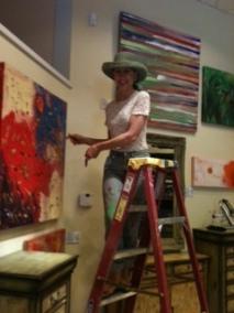 Me On Ladder